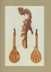 Cetera by Antonius Stradivarius. Original Chromolithograph.   Musical Instruments; Historic, Rare and Unique