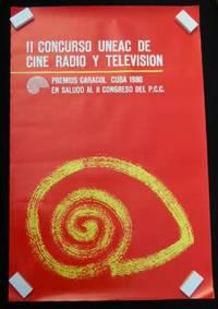 Il Concurso UNEAC De Cine Radio Y Television Premios Caracol Cuba 1980 En Saludo Al II Congreso Del P.C.C. Poster