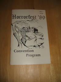 image of HorrorFest '89 Convention Program