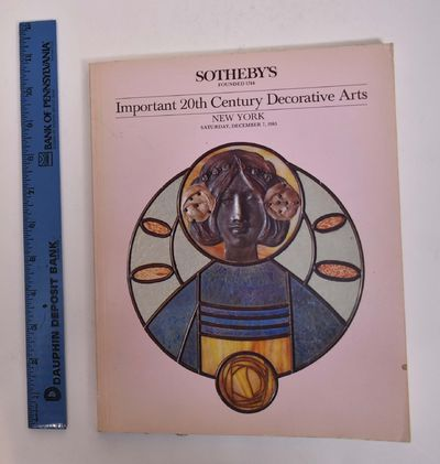 New York: Sotheby's, 1985. Softcover. G+. Noticeable shelf wear, minor soiling to covers, tanning al...