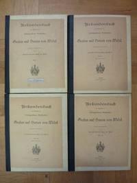 Urkundenbuch zur Geschichte des schloßgesessenen Geschlechtes der Grafen und Herren von Wedel, Band I / Band II, Abteilung II / Band III, Abteilung II / Band IV,