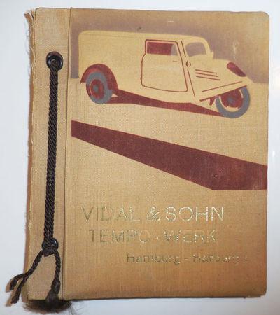 Hamburg: Vidal & Sohn, No Date. First edition. Cloth. Very Good. String-bound clothcovered photo-alb...