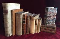 Extraordinary collection of Emblem Books (Dutch, English, French, Italian), containing more than 1,300 engraved illustrations of high quality, most in contemporary bindings