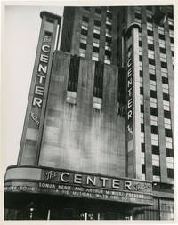 image of Archive of seven original photographs of the Center Theatre, New York City