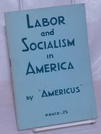image of Labor and socialism in America