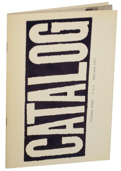 New York: SZ/Press, 1977. First edition. Softcover. Published in conjunction with an exhibition at P...