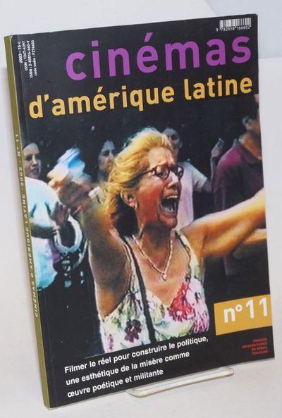 Toulouse: l'Association Recontres Cinemas d'Amerique Latine de Toulous (ARCALT), 2003. Magazine. 182...