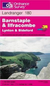 image of Barnstaple and Ilfracombe, Lynton and Bideford (Landranger Maps)