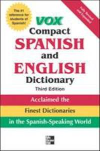 image of Vox Compact Spanish and English Dictionary, 3rd Edition