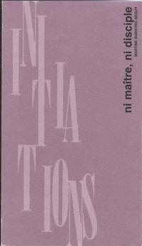 Ni maître, ni disciple, lettre à ceux qui se cherchent by Quentric-Seguy Martine - Paperback - 1994 - from LES TEMPS MODERNES and Biblio.com