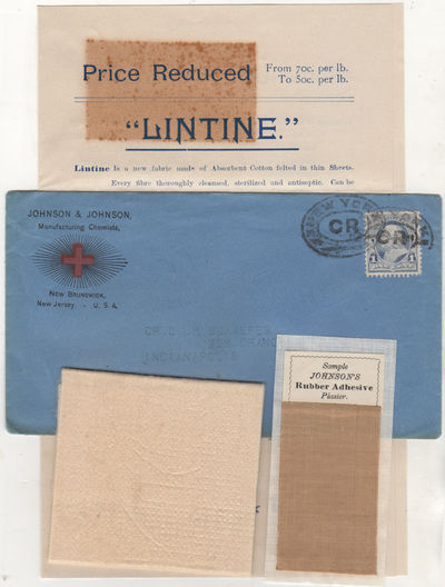 New Brunswick, New Jersey, 1891. Envelope or Cover. Very good. This grouping consists of a four-page...