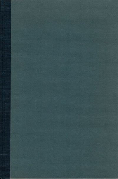 Charlottesville: Univ. of Virginia Press, 1956. First edition. Hardcover. Orig. cloth and boards. Fi...