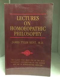 image of Lectures on Homoepathic Philosophy