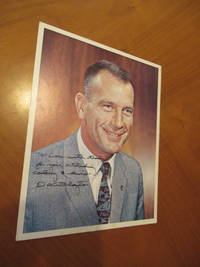 "Original Inscribed Nasa Color Photograph Of Astronaut Donald K.""Deke"" Slayton, Inscribed And Autographed To A Worker In The Astronaut Training Facility"