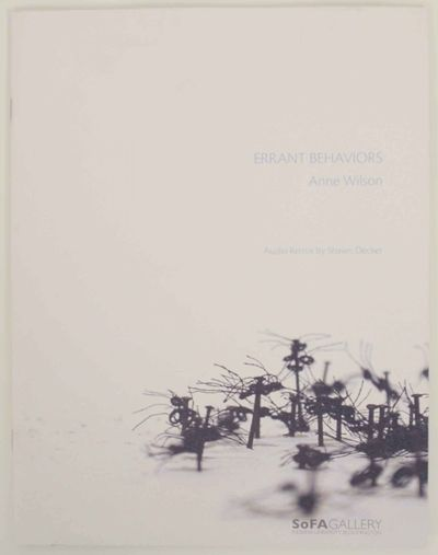 Bloomington, IN: SoFA Gallery, Indiana University, 2004. First edition. Softcover. 8 pages. Exhibiti...