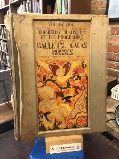 M. De Brunoff; Paris, 1922. First Edition. Hardcover. Acceptable. Heavily worn boards. Silk covering...