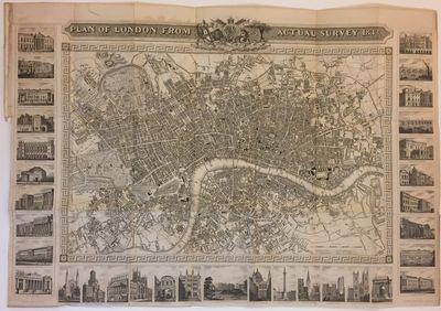 London: United Kingdom Newspaper. Map. Steel engraving. Image measures 21.5