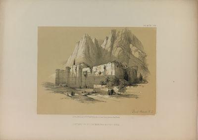 London: Day & Son, 1856. unbound. HAGHE, Louis. View. Color lithograph. Sheet measures 7 3/4
