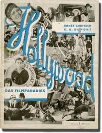 image of Hollywood: das Filmparadies (Original film pamphlet)
