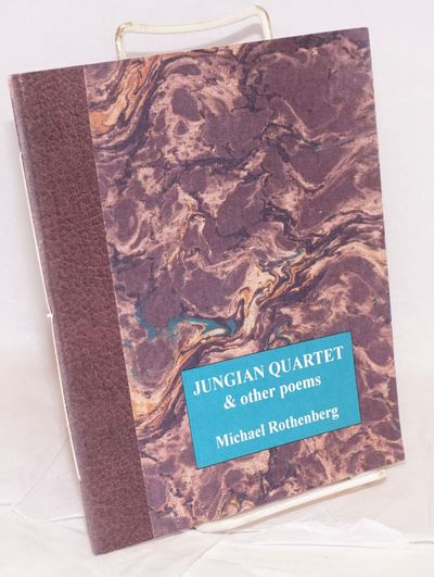 Sebastopol: dPress, 2006. 6.75x8.25 inches, very good chapbook sewn fascicle in faux-marbled wraps. ...