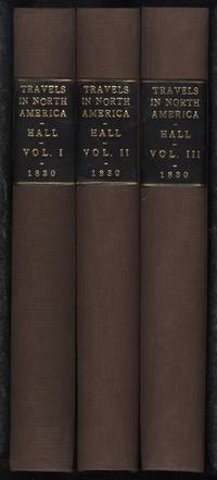 Travels in North America (3 volumes)(mixed 1st & 3rd editions 1829/1830)
