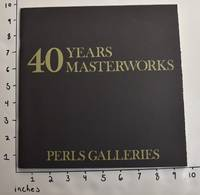 40 Years, 40 Masterworks: October 18-November 26, 1977