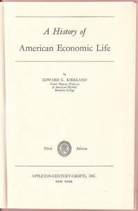 A History of American Economic Life
