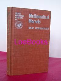 MATHEMATICAL MORSELS (The Dolciani Mathematical Expositions Number Three)