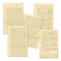 Lovely Margaret Mitchell Typed Letter Signed, written during the Great Depression, includes her...