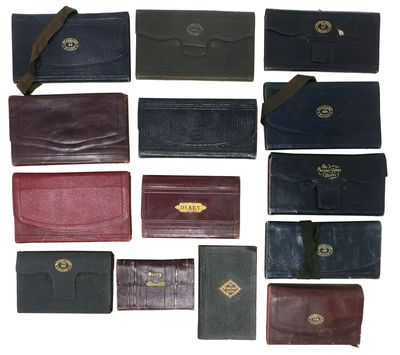 San Francisco, California / Gray, Maine, 1899. Diary bindings are primarily leather wallet-style, wi...