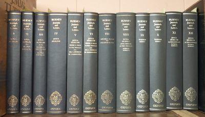 London, Oxford: Oxford University Press, 1972-1984. Hardcover. Octavo; VG-; hardcover; bound in navy...
