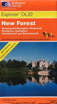 New Forest: Explorer sheet OL22 by Ordnance Survey - Scale 1:25,000 - 2001 - from Acanthophyllum Books and Biblio.com