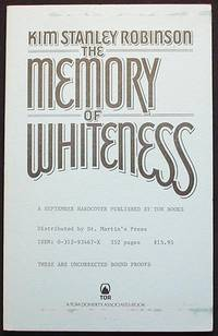 image of The Memory of Whiteness: A Scientific Romance [Uncorrected Bound Proofs]