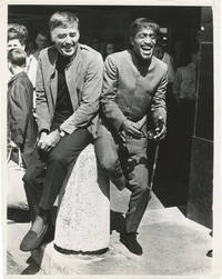 image of Original photograph of Peter Lawford and Sammy Davis Jr. in London, 1967