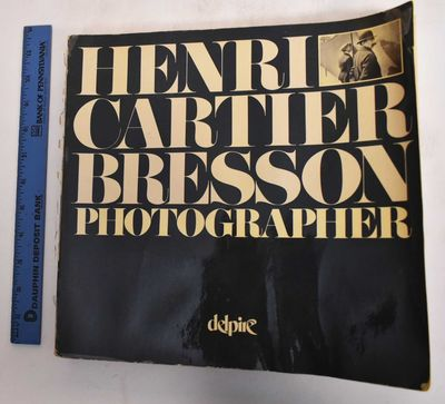 Paris: Robert Delpire, 1979. Paperback. G. Water damage to front cover and first quarter of book. Co...