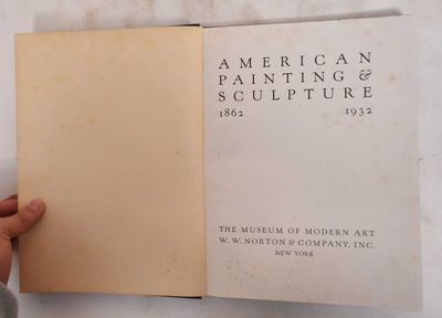 New York: Museum of modern art, W.W. Norton & Co, 1932. Hardcover. VG-/G, covers show little wear - ...
