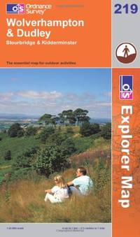 image of Wolverhampton and Dudley, Stourbridge and Kidderminster (OS Explorer Map)