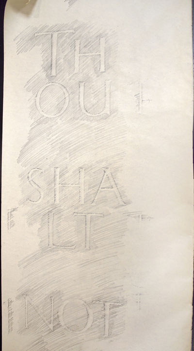 (Gill, Eric). Thou Shalt Not Steal....