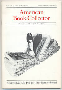 American Book Collector: Volume 6, Number 1, New Series, January/February 1985
