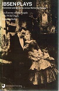 image of Plays: An Enemy of the People, Wild Duck, Rosmersholm (Oxford Paperbacks)