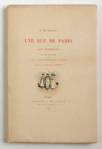 Une rue de Paris et son habitant. Avant-propos par M. le vicomte de Spoelberch de Lovenjoul. Illustrations de François Courboin.