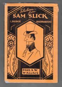 Selections from Sam Slick (Judge Haliburton)