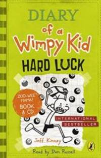 image of Diary of a Wimpy Kid: Hard Luck book & CD