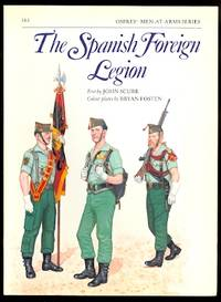 image of THE SPANISH FOREIGN LEGION.  OSPREY MEN-AT-ARMS SERIES NO. 161.