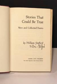 Stories That Could Be True SIGNED COPY