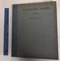 18th Annual Volume of the Walpole Society, 1929-1930: Vertue Notebooks Volume I.