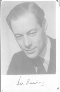 Fine vintage postcard photo signed underneath, (Rex,  1908-1990, British Actor)