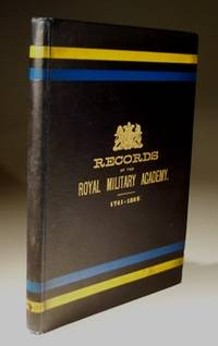 Records of the Royal Military Academy 1741-1892