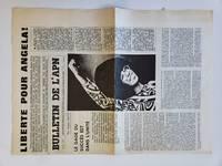 Free Angela Davis, Liberte Pour Angela! 1972