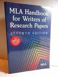 image of MLA Handbook for Writers of Research Papers, 7th Edition